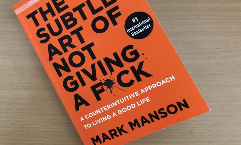 2. The Subtle Art Of Not Giving Af