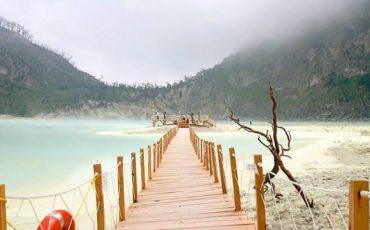 Kawah Putih Bandung Jembatan View