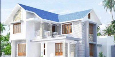 Model Rumah Berwarna Putih Yang Nyaman